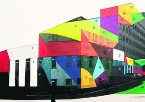 Стены Павловской больницы в Киеве станут разноцветными