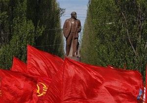 В украинских городах отпраздновали 1 мая