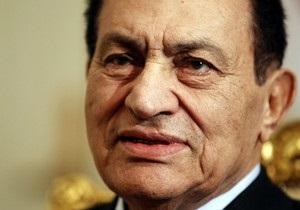 Главный прокурор Египта объявил о продлении ареста Мубарака