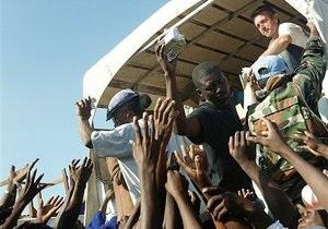 Гаити отказалась от продовольственной помощи