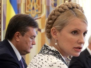 Опрос: Янукович опережает Тимошенко на 15%