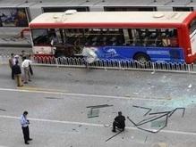 В Китае взорваны два автобуса: есть жертвы