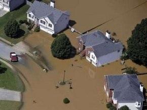 В связи с наводнением Обама объявил в Джорджии чрезвычайное положение