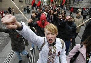 Одесских милиционеров обвиняют в избиении задержанных участников марша УПА