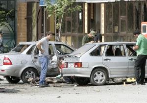 В жилом районе Грозного прогремел взрыв, есть жертвы