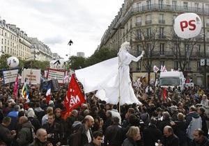 Профсоюзы Франции: На улицы вышли 3,5 миллиона человек