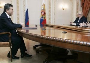 Зурабов заявил, что избрание Януковича президентом стало для Черномырдина  самым большим подарком