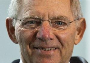 Министр финансов Германии обрадовался риску понижения рейтинга всей еврозоны