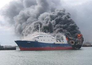 На сухогрузе, терпящем бедствие у берегов Крыма, может загореться топливо - источник