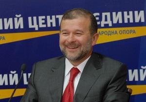 Балога отреагировал на заявление Москаля о 125 млн евро  характерным жестом пальца возле виска