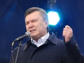 Янукович: Партия регионов сегодня будет блокировать работу Рады