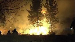 Тысячи жителей штата Невада бегут от пожаров