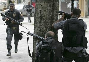 В Бразилии из-за связей с наркомафией арестовали более 60 военных полицейских