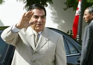 Евросоюз запустил процедуру применения санкций против бежавшего президента Туниса