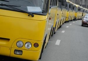 Каждая пятая маршрутка Киева находится в аварийном состоянии