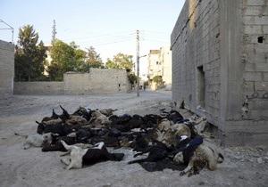 Сирия - ООН: После  химической атаки  в Дамаске помимо убитых остаются тысячи раненых