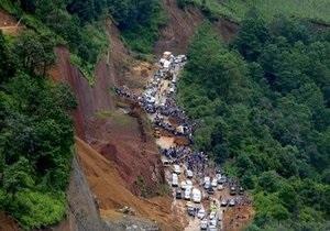 Около 100 человек оказались погребены под оползнем в Гватемале