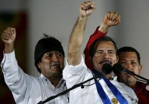 Ортега снова избран президентом Никарагуа
