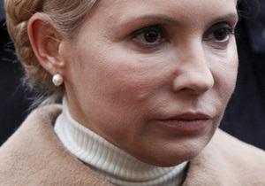 Тимошенко рассчитывает, что Генпрокуратура разрешит ей посетить Брюссель, несмотря на подписку о невыезде