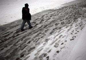 В Украине за период сильных морозов от переохлаждения умерли 12 человек