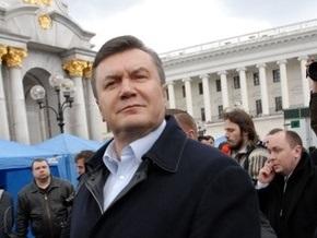 Янукович: При нынешней власти надежд на улучшение отношений с Россией нет