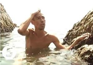 Журналисты 5 канала нашли Панина на нудистском пляже Симеиза