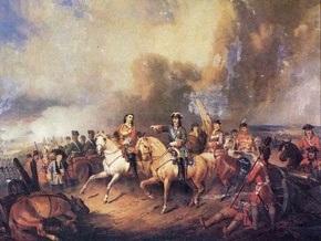 В Полтаве отмечают 300-летие Полтавской битвы