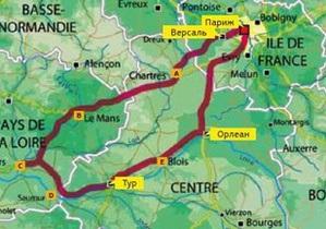 Европа на колесах. Гид по Франции. Маршрут № 1