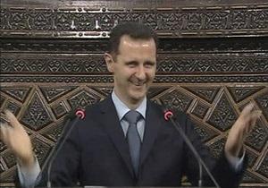 Президенту Сирии запретили въезд в Евросоюз