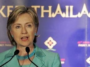 Клинтон заявила, что США не выступают против развития мирного атома в Иране