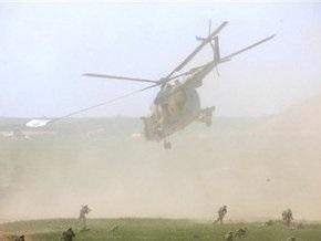 В Афганистане разбился военный вертолет