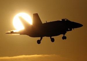 НАТО нанесло мощный авиаудар по центру Триполи