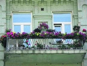 В Киеве выбрали самый красивый балкон
