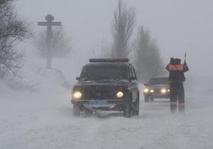 ГАИ обновила список дорог с ограничениями в движении из-за снегопадов