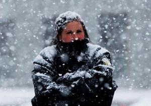Завтра столбики термометров в Украине опустятся до 21 градуса мороза