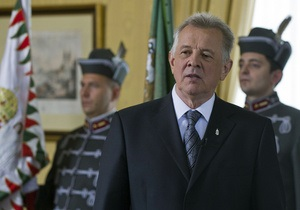 Президента Венгрии обвинили в плагиате при написании диссертации