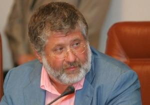 Коломойский провел встречу с журналистами 1+1