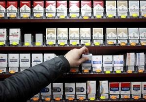 В Украине могут полностью запретить рекламу табачных изделий