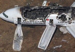 Пилоты Boeing 777 просили пассажиров не эвакуироваться