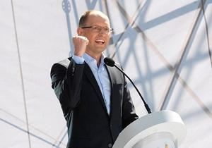 Лица и цели: Яценюк рассказал, как Батьківщина поменяет свою предвыборную стратегию