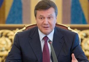 Янукович гарантировал транзит газа в ЕС
