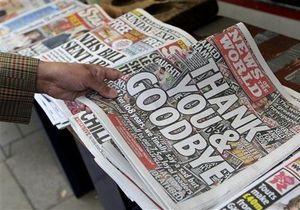 Продажи скандально известной газеты News of the World взлетели на 70%