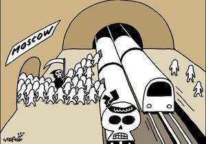 Корейская газета извинилась за карикатуры на тему терактов в московском метро