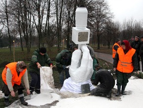 В Киеве открыли Аллею журналистов