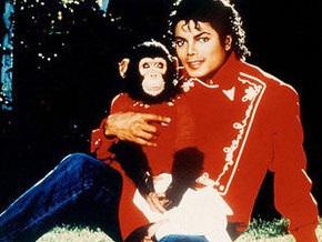 Шимпанзе Майкла Джексона напишет мемуары