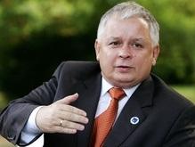 Качиньский озвучил условия ратификации Лиссабонского договора