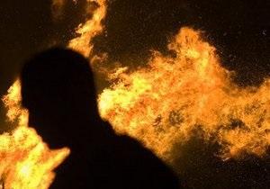 В Черниговской области из-за курения в постели возник пожар, два человека погибли
