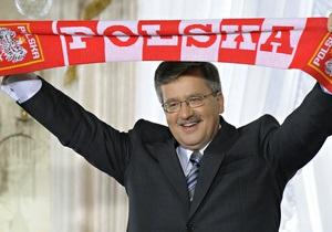 В Варшаве пройдет инаугурация Бронислава Коморовского