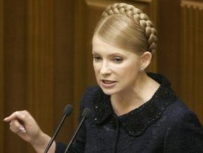 Тимошенко заявляет, что тарифы на электроэнергию повышаться не будут