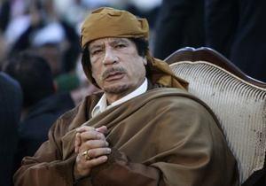 Каддафи призвал РФ, Индию и Китай инвестировать в ливийскую нефть